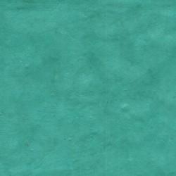 Papier népalais fin turquoise foncé