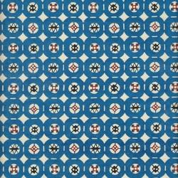 Papier japonais Pastilles bleues