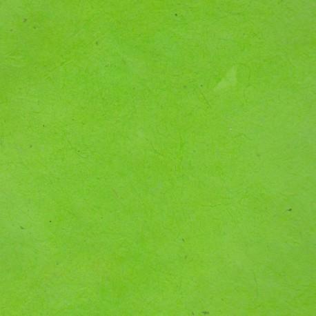 Papier népalais fin citron vert