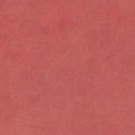 Papier népalais fin fraise écrasée