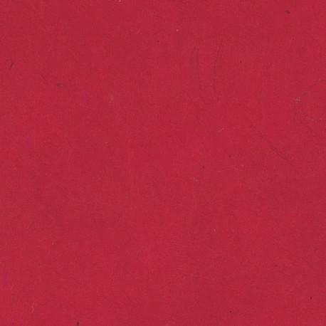 Papier népalais fin rouge laque