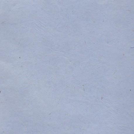 Papier népalais fin bleu pastel