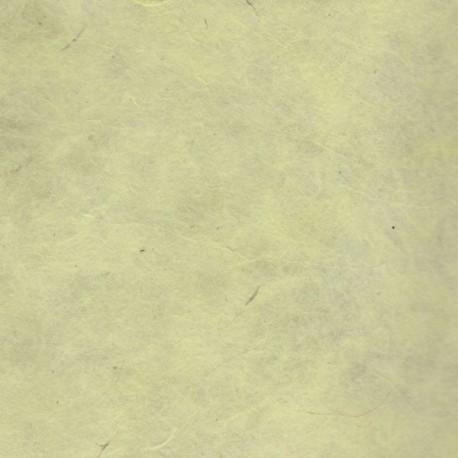 Papier népalais fin jaune pâle