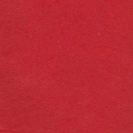 Papier népalais épais rouge