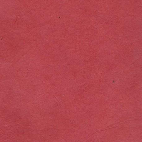 Papier népalais fin fraise