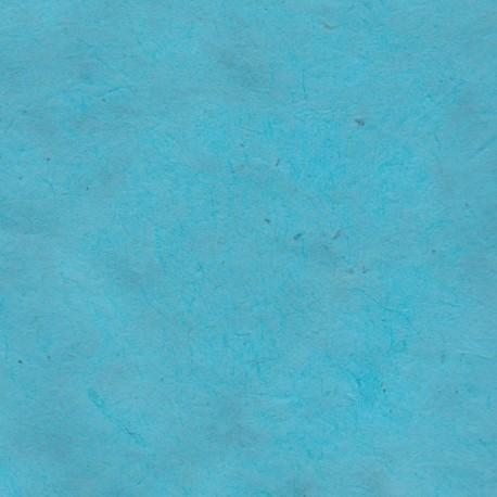 Papier népalais fin turquoise