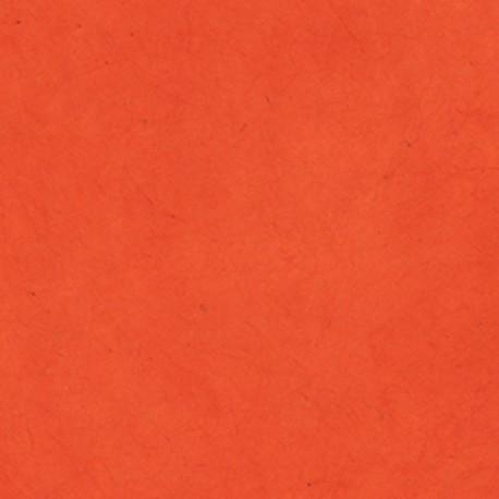 Papier népalais fin carotte