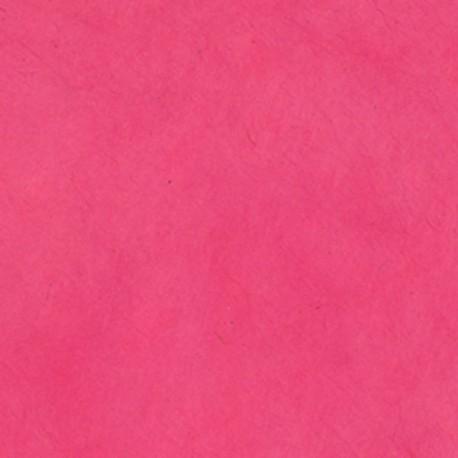 Papier népalais épais framboise