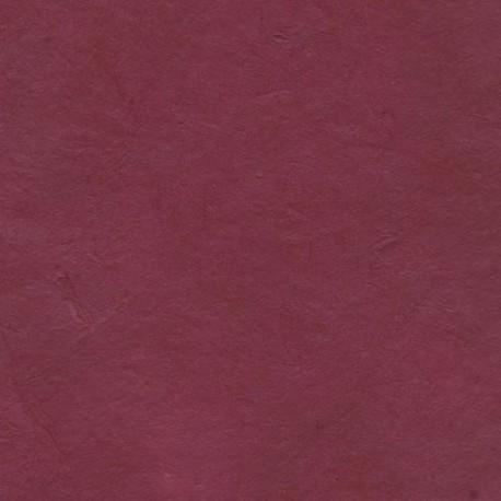 Papier népalais fin bordeaux