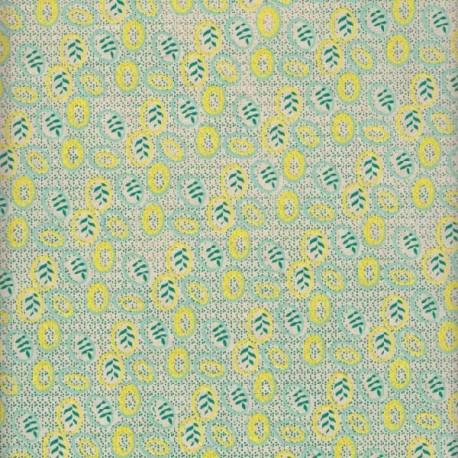 Papier népalais Globules vert