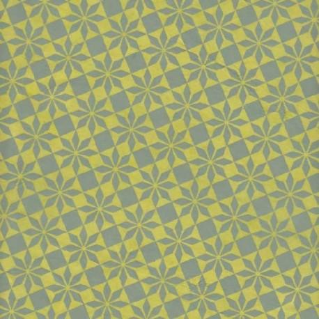 Papier népalais Étoiles Origami vert
