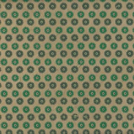 Papier népalais Hélianthus olive