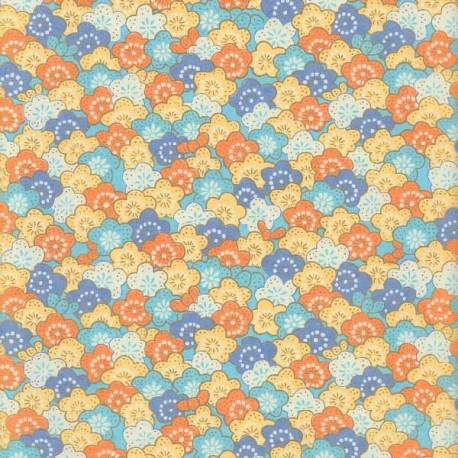 Papier japonais Nuée florale