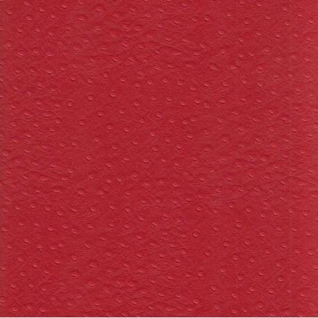 Autruche rouge
