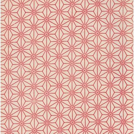 Papier népalais Sashiko naturel