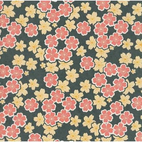 Papier japonais Effusion florale