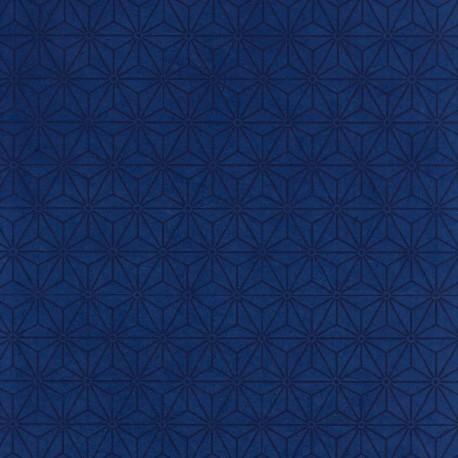 Papier népalais Sashiko bleu
