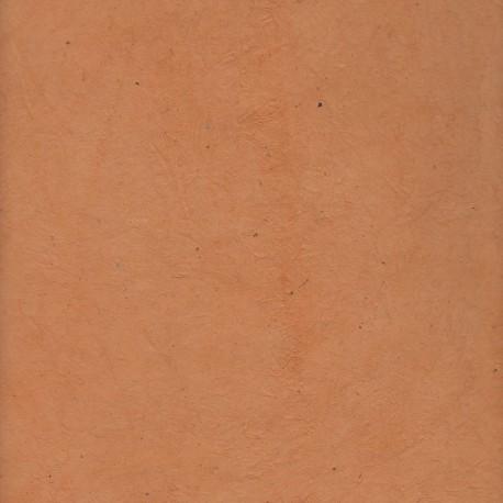 Papier népalais saumon foncé