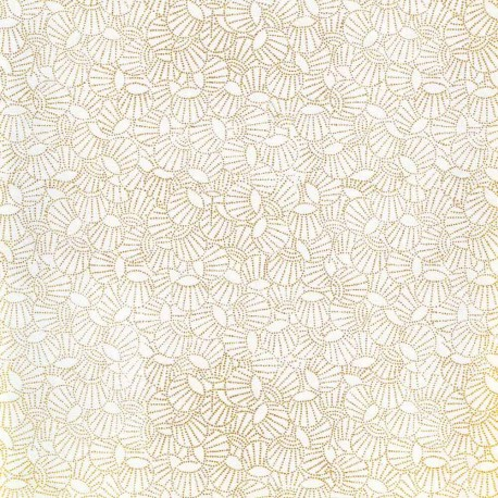 Papier japonais Lampions blanc