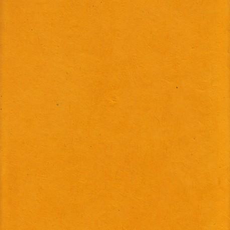 Papier népalais fin jaune d'or