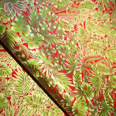Papier japonais Philodendron