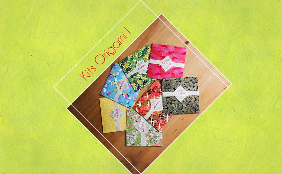 Découvrez nos kits de papiers japonais