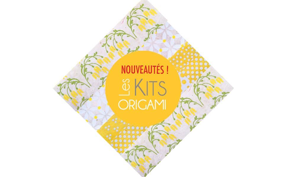 Kits de Papiers Origami !!